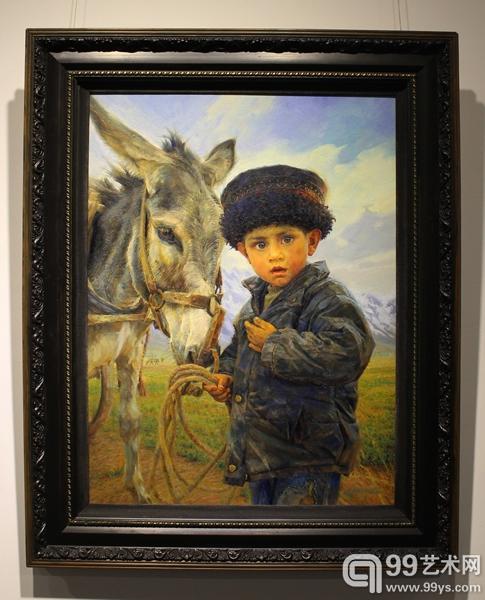 龙力游《帕米尔高原的小男孩》