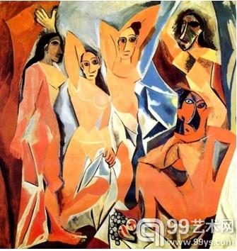 说到毕加索的   艺术   生涯,就要说起毕加索一生中的女人高清图片