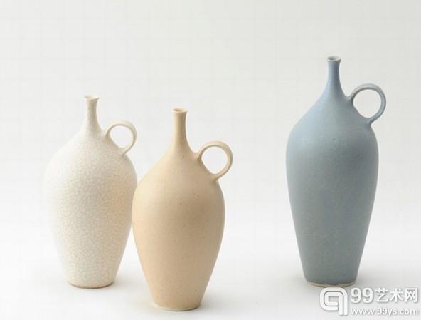 日本陶瓷艺术家和田麻美子陶瓷作品