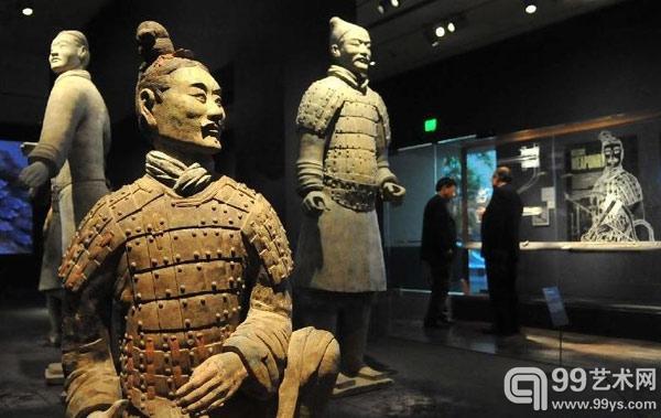 """""""中国兵马俑:秦始皇时代的瑰宝""""特展在美展出"""