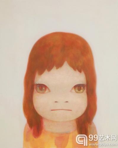 奈良美智的《白夜》(压克力画布,2006年作,估价480万至640万港元(62万至83万美元)