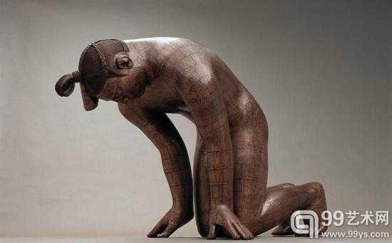 蔡志松雕塑作品《故国·颂》