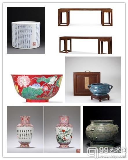 香港2013春拍瓷杂版块焦点拍品