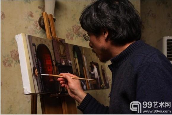 冷军 超写实油画的 手艺人