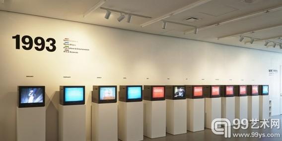 """""""NYC 1993…""""群展新美术馆展出"""