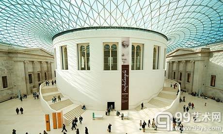 大英博物馆的大中庭(Great Court)