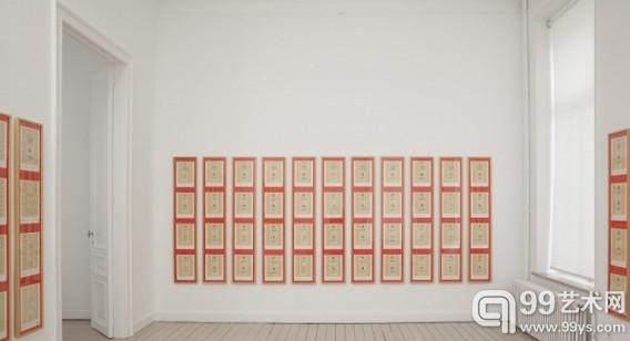 德国艺术家Hanne Darboven回顾展近日布鲁塞尔开幕