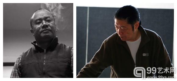左:管郁达   右:李华生