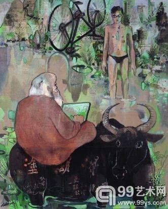 当西方画家撞上东方文化:一个法国画家的中国情缘