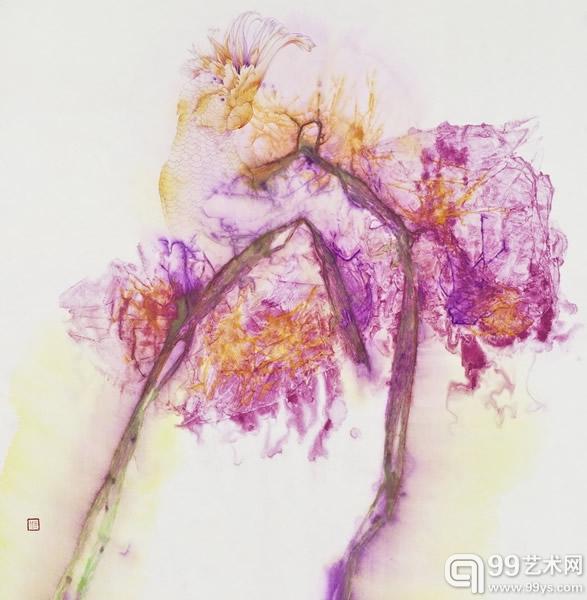 保利贵宾部线上展览第五期:邱虹绘画作品展