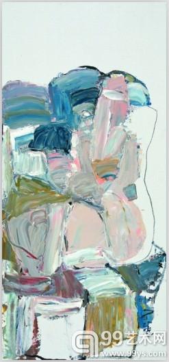 《磐良图》85cmX40cm 布本油画  2010年
