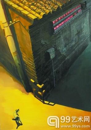 《巷说No.1》 100cm×140cm 布面油画
