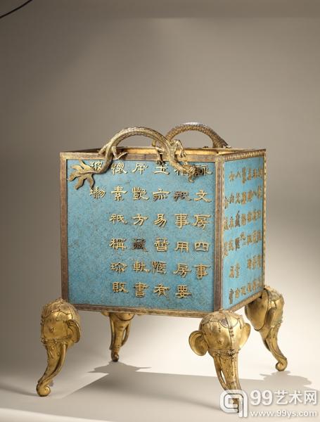 保利八周年秋拍呈现:皮艾尔•梅西耶珍藏清代掐丝珐琅器专场