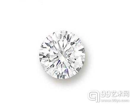 NO.5  圆形足色全美钻石
