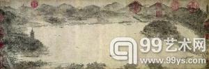 李嵩《西湖图》