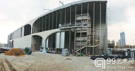 正在建造中的龙美术馆浦西馆