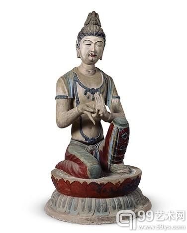 第328窟供养菩萨像