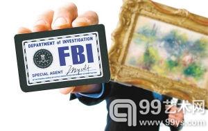 """美国女子捡漏得10万元名画 FBI介入称是""""赃物"""""""