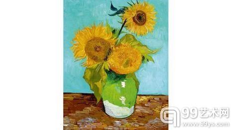 第一副阿尔勒向日葵油画被私人收藏。1948年以后就未被展出过。