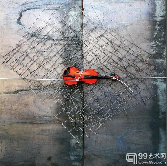 贫穷艺术大师库奈里斯的作品《无题》