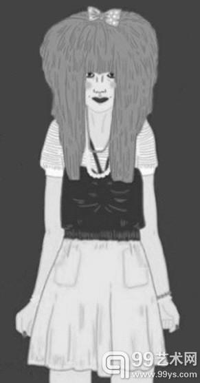 网友手绘漫画趣味解读各种类型姑娘(图)
