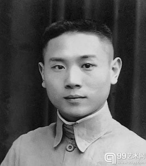 青年时代的杨仁恺