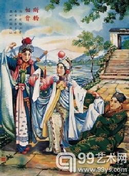 杭州民间故事年画