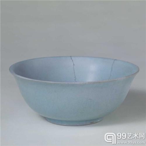 故宫博物院藏 汝窑天青釉碗