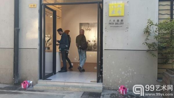 """上海八大画廊""""离群——常湸绘画2013-2014"""""""