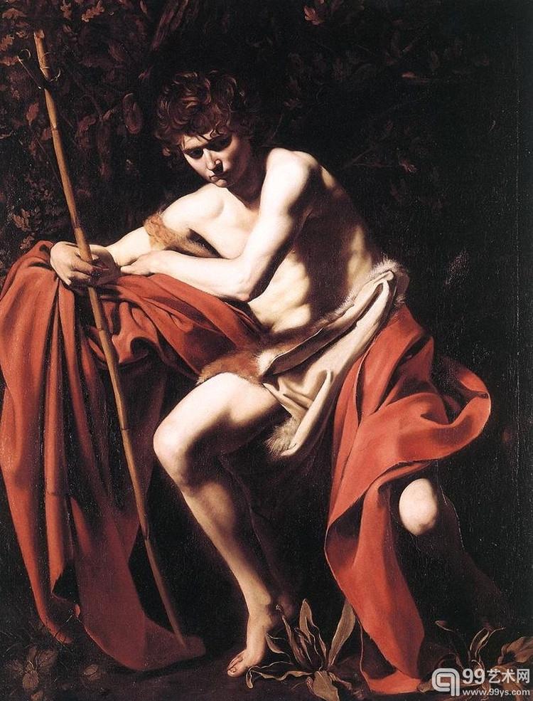施洗约翰 米开朗基罗·卡拉瓦乔 藏于罗马科西尼宫国立古代艺术馆