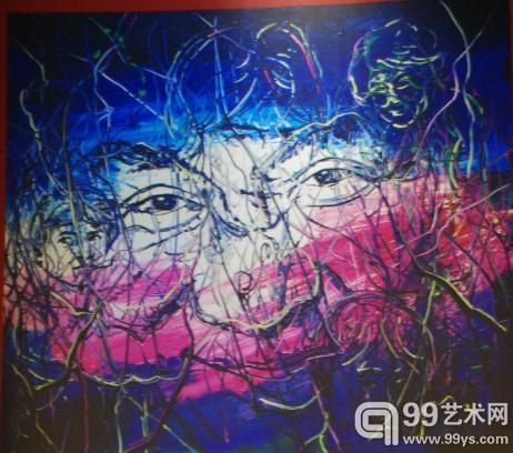 艺术家曾梵志为成龙60岁生日慈善拍卖特别创作作品
