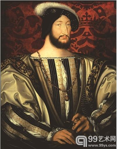 《法国国王弗朗索瓦一世像》: