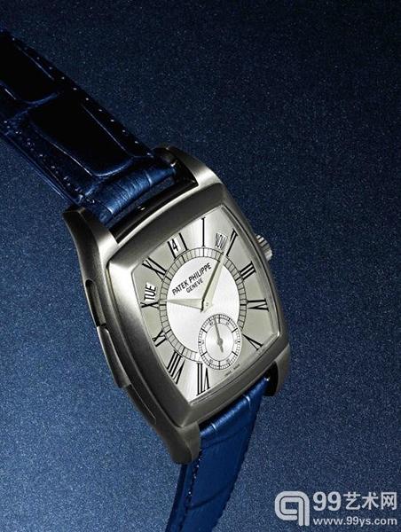 5033T型号钛金属自动上链三问年历腕表