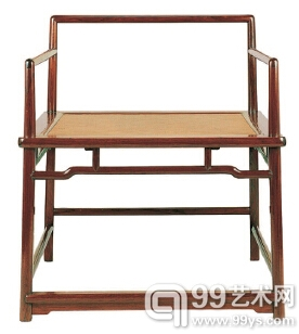 伍嘉恩《明式家具二十年经眼录》书中提到的禅椅