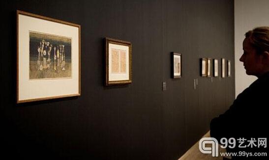 大规模保罗·克利作品展在英国泰特现代美术馆举办