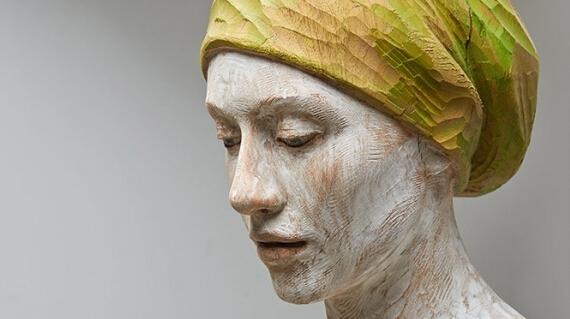 【当代艺术】Bruno Walpoth 木雕作品